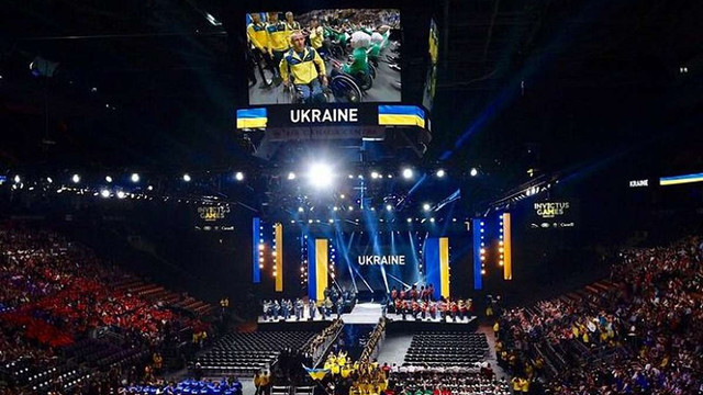 Українська команда вперше взяла участь у «Іграх Нескорених» в Канаді