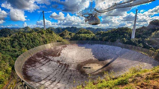 Ураган «Марія» зламав найбільший в світі радіотелескоп «Аресібо»