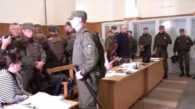 Учасник АТО знепритомнів на судовому засіданні у Львові щодо сутичок на кордоні