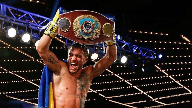 Василь Ломаченко увійшов у трійку найкращих боксерів світу за версією журналу The Ring