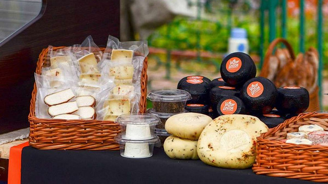 Виробники з Львівщини отримали нагороди на фестивалі крафтових сирів у Києві