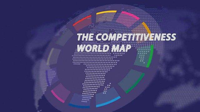 Україна піднялась у світовому рейтингу конкурентоспроможності на чотири позиції