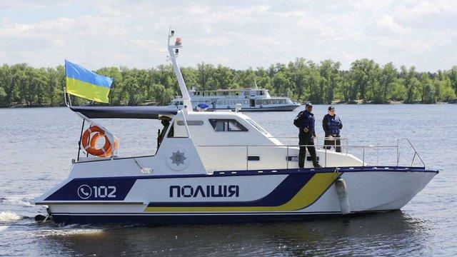 Нацполіція купила дев'ять катерів для патрулювання Дніпра і Канівського водосховища