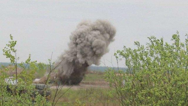 У Запорізькій області під час військових навчань загинув цивільний