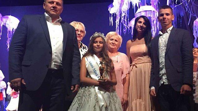 9-річна донька співвласника «Буковелю» отримала титул «Міні-міс Європа»