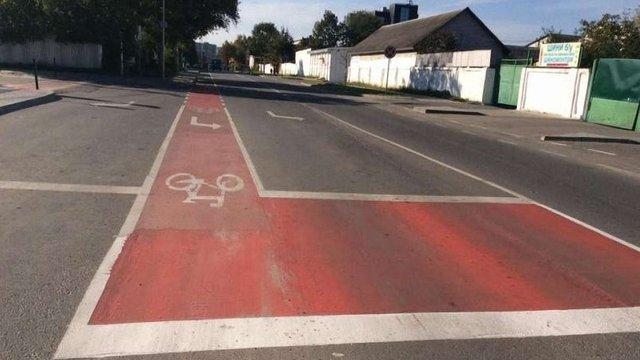 У Львові облаштували перший у місті велосипедний шлюз