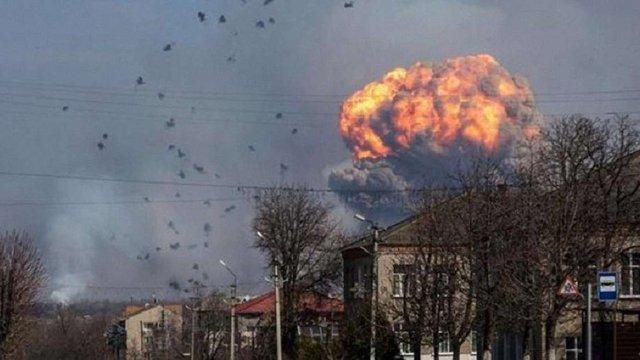 ГПУ назвала основну версію вибухів на складі боєприпасів під Вінницею