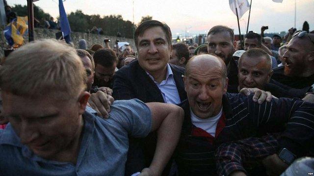 Десятьом грузинам заборонили в'їзд до України через інцидент з Саакашвілі у «Шегинях»
