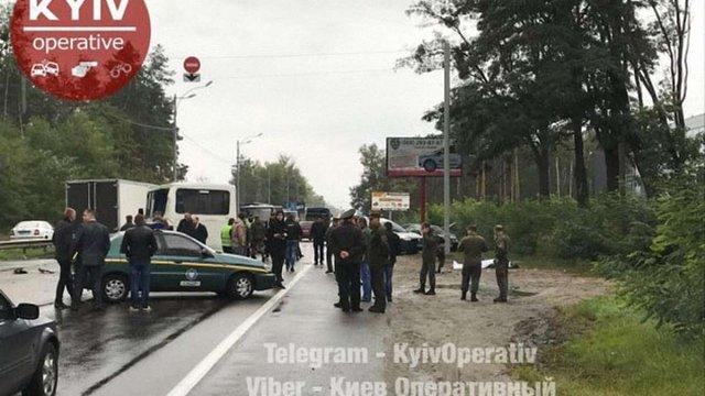 У ДТП з автобусом Нацгвардії на Київщині загинув військовий і постраждали 8 людей