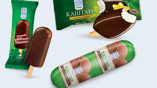 Львівському виробнику морозива заборонили використовувати назву «Каштан»
