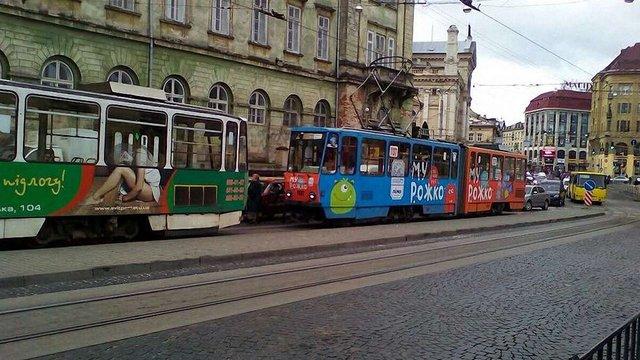 У Львові тимчасово не курсують сім трамвайних маршрутів