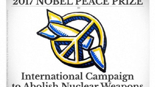 Нобелівську премію миру отримав Міжнародний рух за ліквідацію ядерного озброєння