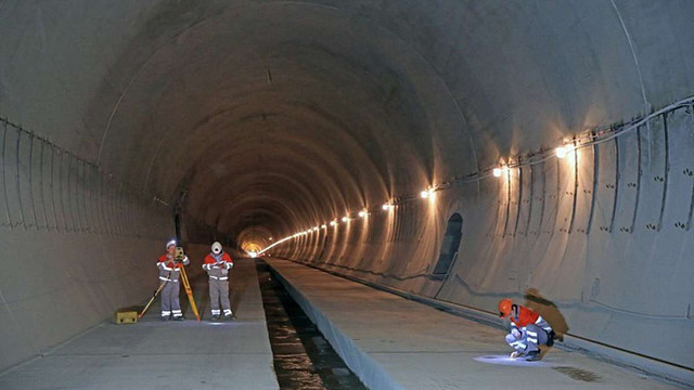 У Карпатах завершили будівництво Бескидського тунелю