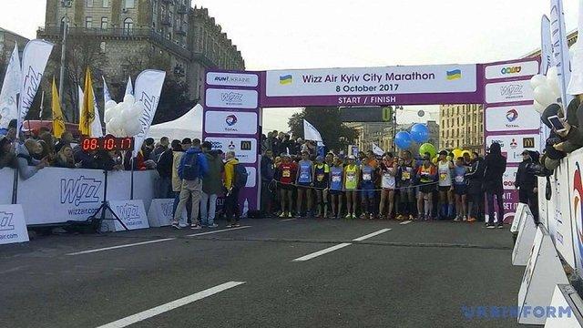 У Києві під час забігу на марафоні помер чоловік