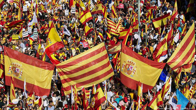 У Барселоні на мітинг за єдність Іспанії вийшли понад 350 тис. людей