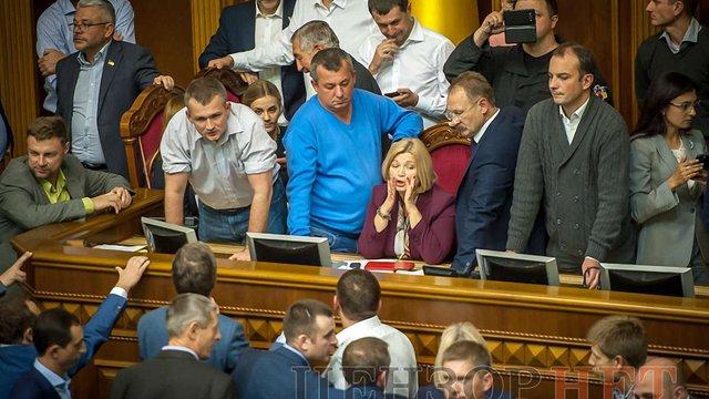 Ірина Геращенко пояснила чому Крим і Донбас розділені в законопроекті про реінтеграцію