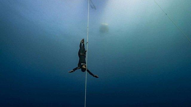 Українка встановила два світових рекорди з пірнання на глибину