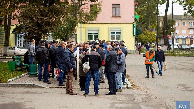На Волині шахтарі з вимогою виплатити зарплату блокували рух транспорту до Польщі