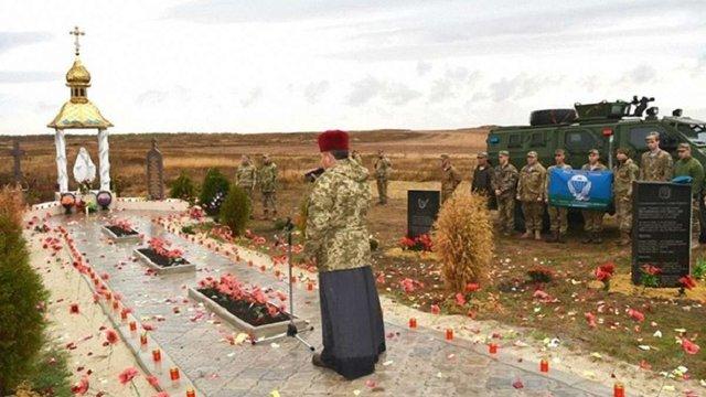 На Донеччині відкрили пам'ятник Героям Небесної сотні