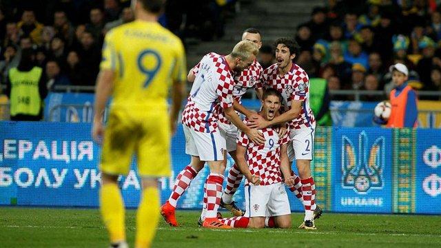Збірна України програла Хорватії і не їде на чемпіонат світу до Росії
