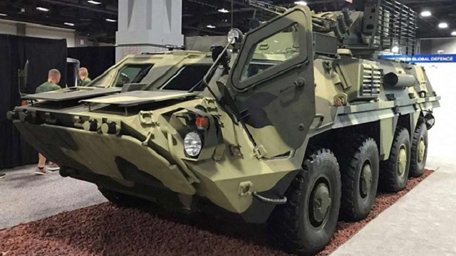 Україна вперше показала своє озброєння на міжнародній виставці в США