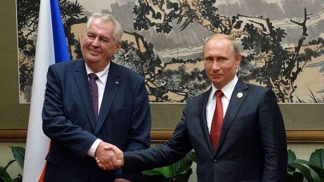 Президент Чехії запропонував Україні продати Крим