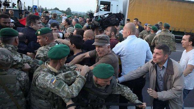 Львівський суд надав поліції доступ до відео телеканалів у справі прориву кордону Саакашвілі