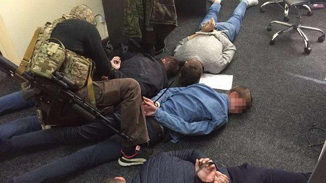 Оперативники СБУ затримали групу псевдоколекторів