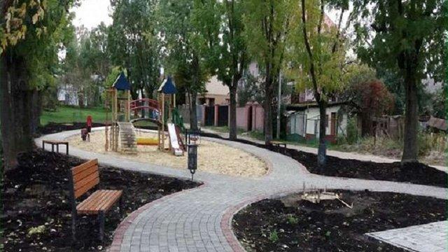 У Личаківському районі Львова облаштували новий громадський простір