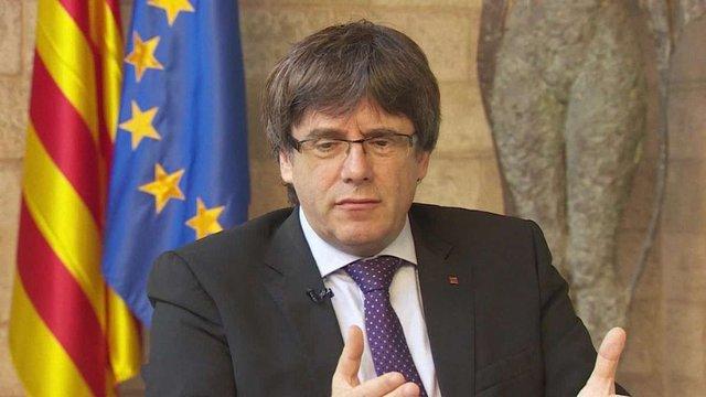 Лідер Каталонії пояснив, чому досі не проголосив незалежність