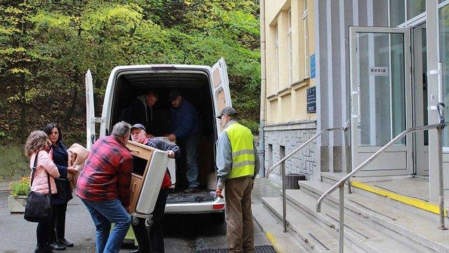 Дві львівські дитячі лікарні отримали гуманітарну допомогу з Європи