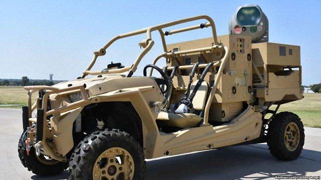 Американська компанія розробила лазерну систему захисту від дронів-шпигунів