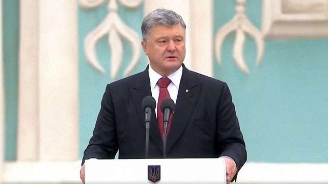 Президент привітав українців з 75-річчям створення УПА, святом Покрови і Днем захисника