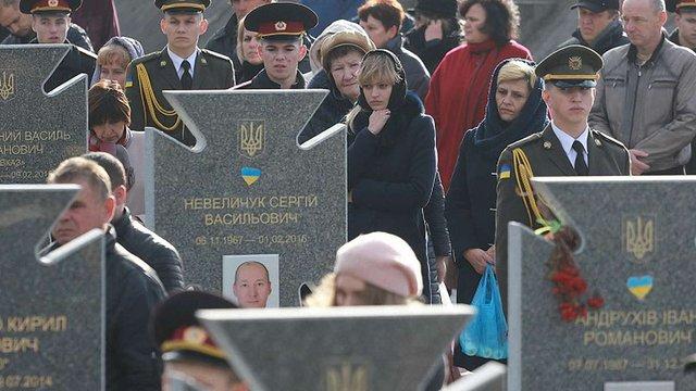 У Львові вшанували пам'ять українських вояків