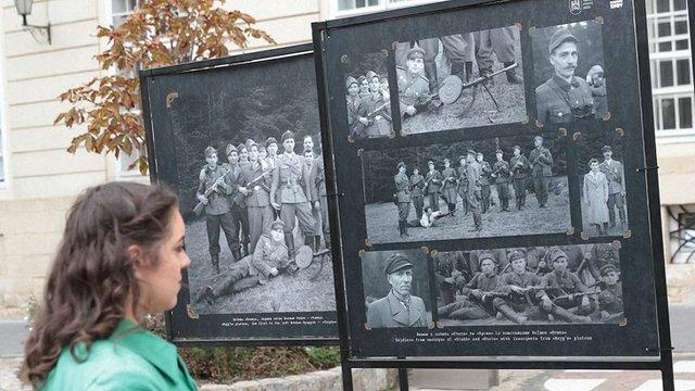 У центрі Львова запрацювала вулична виставка унікальних фотографій УПА