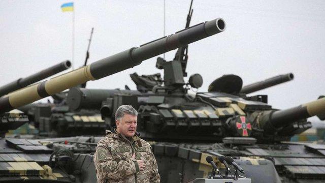 Президент заявив про формування резерву військової техніки ЗСУ