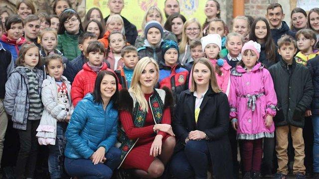 Для 50 дітей учасників АТО з Львівщини провели Фестиваль мрій