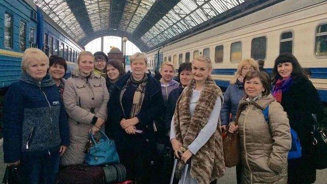 Вчителі з Луганської області два тижні навчатимуть львівських школярів