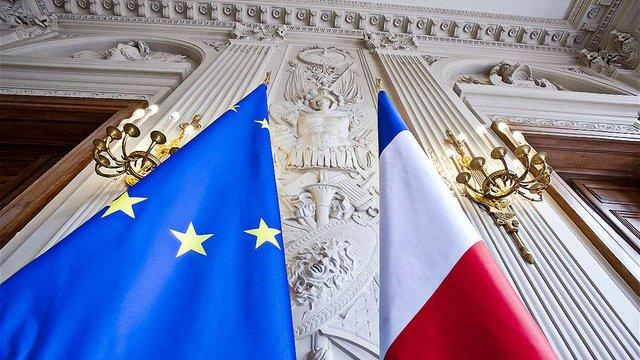 Франція визнала символи ЄС через 10 років після їх затвердження