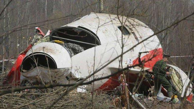 Польська урядова комісія підтвердила запис вибуху на борту літака Качинського