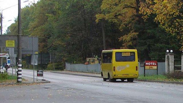 На головній дорозі до Трускавця з'являються нові тріщини