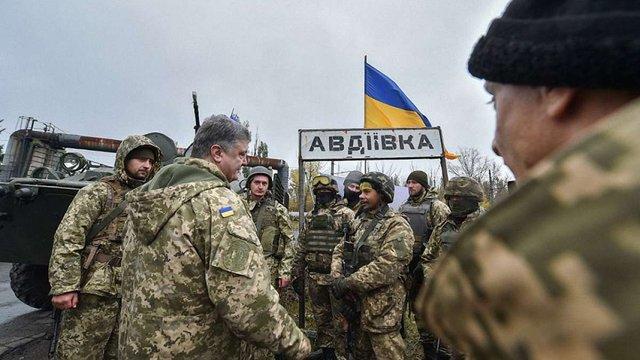 Петро Порошенко анонсував ротацію підрозділів ЗСУ на Донбасі