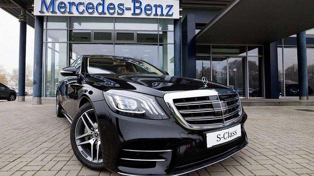 Із Франкфуртського автосалону до Львова: Mercedes-Benz S-Class презентували львівській публіці