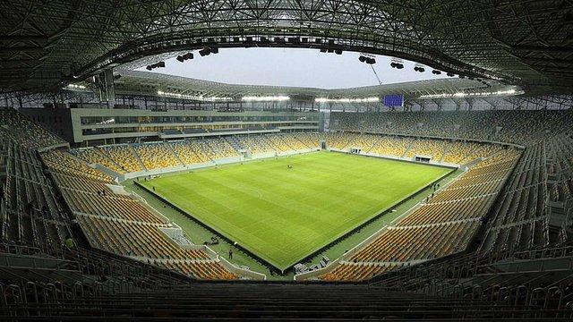 Товариський матч між збірними України та Словаччини відбудеться у Львові