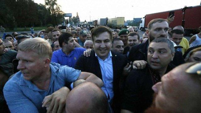 Апеляційний суд підтвердив штраф Саакашвілі за прорив через кордон