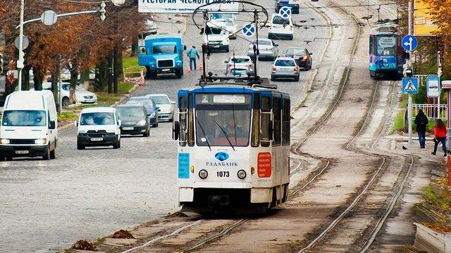 На вул. Личаківській у Львові планують запровадити лівосторонній трамвайний рух