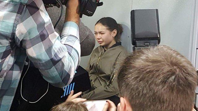 Патрульні розповіли про свідчення Зайцевої в перші хвилини після ДТП