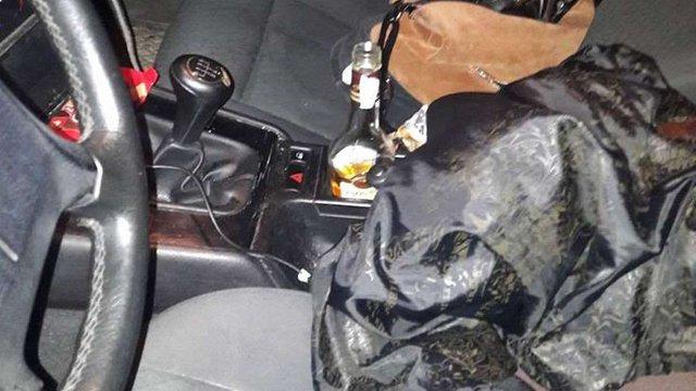 38-річного львів'янина затримали п'яним за кермом четвертий раз протягом року