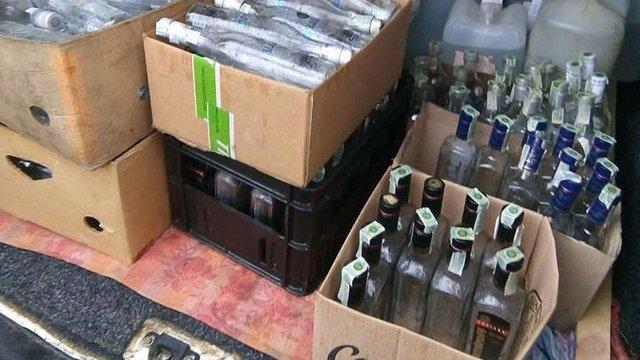 На Львівщині вилучили 400 пляшок фальсифікованого алкоголю