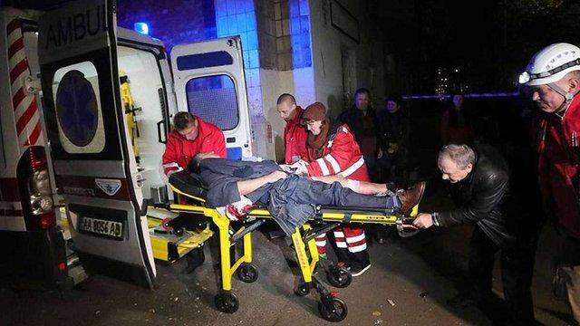 Постраждала під час вибуху поблизу телеканалу «Еспресо» прийшла до тями